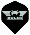 Bull's One Colour Powerflite - Solid Bull's Logo (Silver)