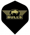 Bull's One Colour Powerflite - Solid Bull's Logo (Gold)